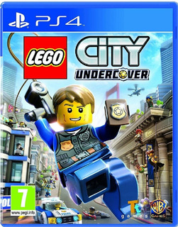 Lego City Undercover Ps4 Cd Fisico Original Sellado Nuevo