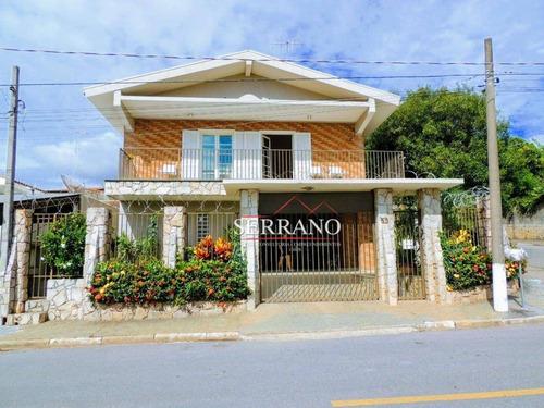 Casa Com 4 Dormitórios À Venda, 222 M² Por R$ 790.000,00 - Nova Vinhedo - Vinhedo/sp - Ca0662