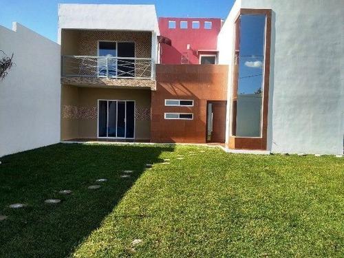 ¡¡ Estrena Espectacular Residencia Cuautla Morelos Alberca Palapa