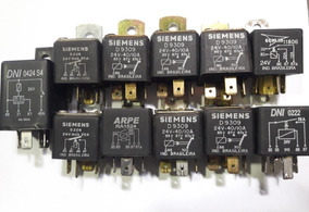 Relés Dni 0424 S4 - 0222, Siemens D208 - D9309, Echlin 11806