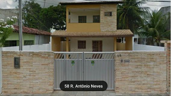 Casa Com 4 Suítes, Sala, Copa/cozinha, 150m Da Praia