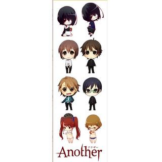 Plancha De Stickers De Anime Another