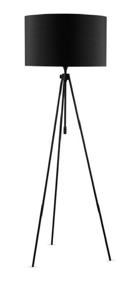 Luminária De Chão Flyte Tripé Metal 180cm Preto | Stella Sd6315