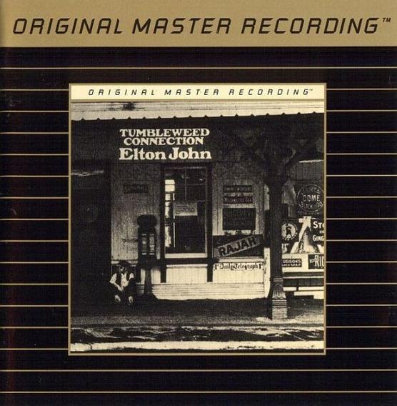 Elton John Tumbleweed Connection Original Master Cd Mfsl