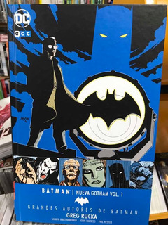Batman Nueva Gotham 1 Gab Greg Rucka Tapa Dura Dc Ecc