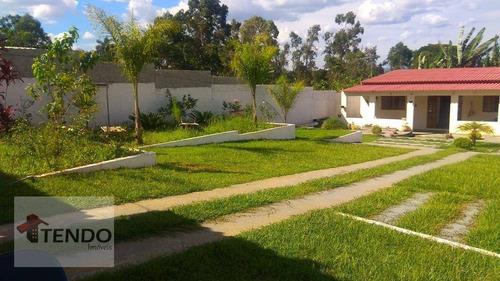 Imagem 1 de 15 de Chácara Com 2 Dormitórios À Venda, 1000 M² Por R$ 405.000,00 - Jardim Esperança - Suzano/sp - Ch0102