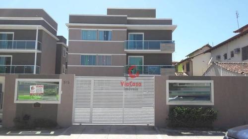 Cobertura Com 2 Dormitórios À Venda, 126 M² Por R$ 258.000,00 - Jardim Mariléa - Rio Das Ostras/rj - Co0108