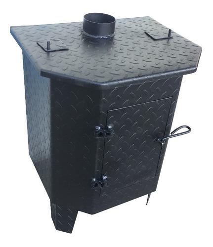 Imagen 1 de 10 de Calefactor Chapa Barco, Estufa