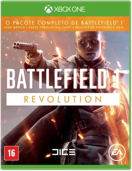 Battlefield 1 Revolution - Xbox One - Codigo De 25 Digitos