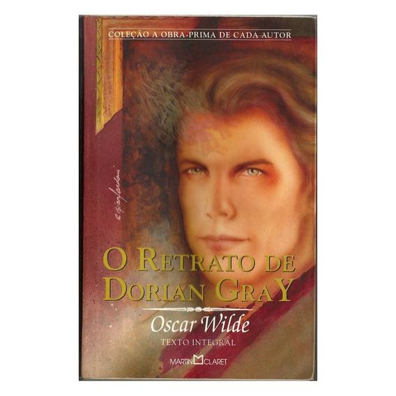Livro O Retrato De Dorian Gray Oscar Wilde Ed. Martin Claret