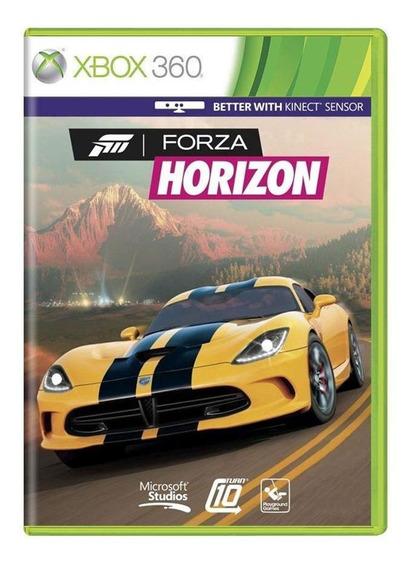 Forza Horizon Xbox 360 Lacrado Mídia Física Pronta Entrega