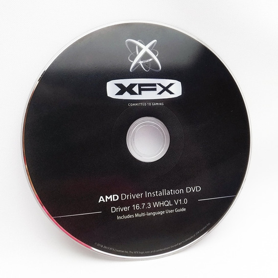 Cd (dvd) Original Drivers Amd 16.7.3 Whql V1.0