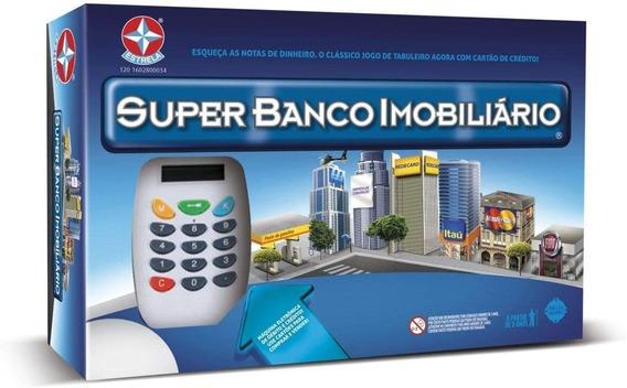 Jogo Super Banco Imobiliario - Estrela Maquina De Cartao