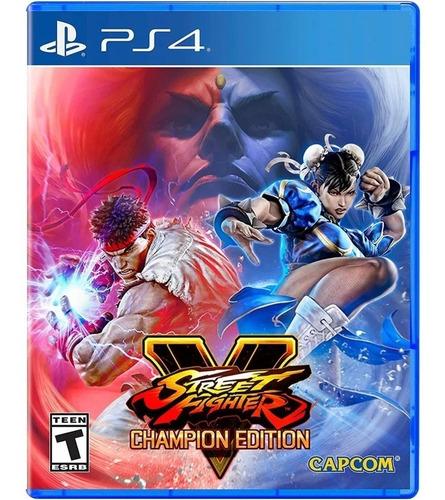 Imagen 1 de 1 de Street Fighter V Champion Edition Playstation 4