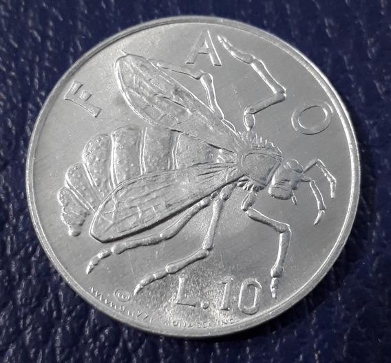 Moneda San Marino 10 Liras 1974 F A O.