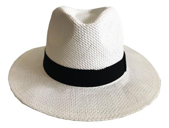 Sombrero Estilo Panama Trama Compañia De Sombreros 86332529