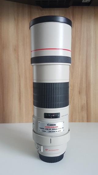 Lente Canon 300mm F4 L Is Usm