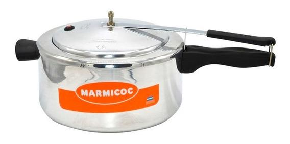 Olla A Presion Marmicoc 5lts Modelo Nvo Aluminio Con Valvula