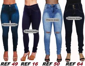 Kit 30 Calças Jeans Feminina Laycra 3% Revenda Atacado