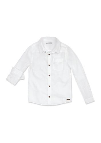 Camisa Infantil Menino Hering Kids - 944kvj5 Branco