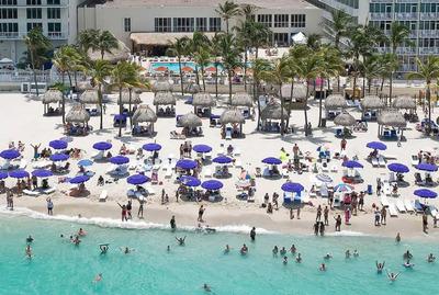 Dpto A Metros Del Mar En Miami -estacionamiento Gratuito