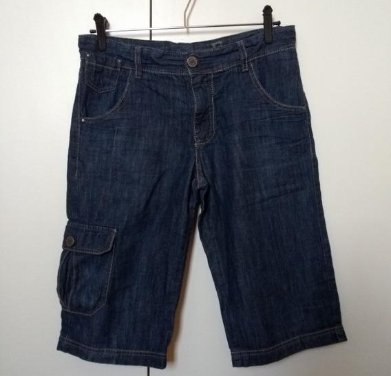 Bermudas Masculinas Juvenis 16 Verde E Jeans 14 16 Ver Fotos