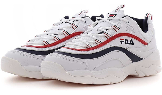 Fila Ray Tenis Blanco 100% Original