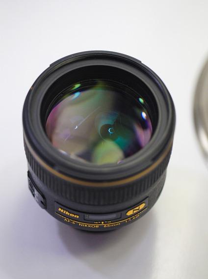 Lente- Nikon 85 Mm Fullframe F/1.4 - Foco Automático.