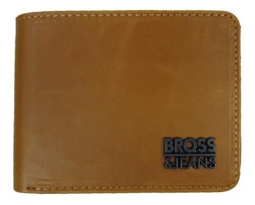 Billetera Bross Brs-6004 Hombre Cuero Sintetico Envio Gratis