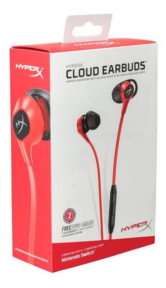 Audifonos Hyperx Cloud Earbuds - Hx-hsceb-rd