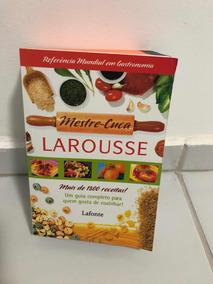 Livro Mestre Cuca Larousse (dicionário Da Cozinha)