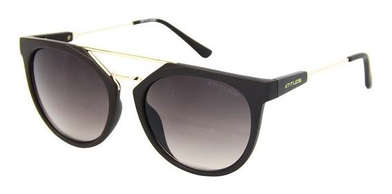 Óculos De Sol Atitude 5294 Feminino Arredondado