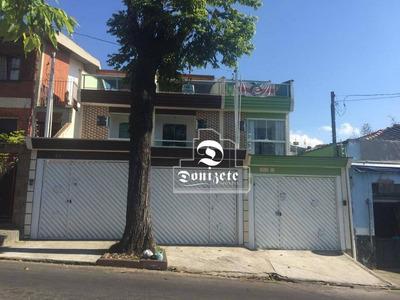 Sobrado Com 3 Dormitórios À Venda, 118 M² Por R$ 450.000 - Jardim Utinga - Santo André/sp - So2552