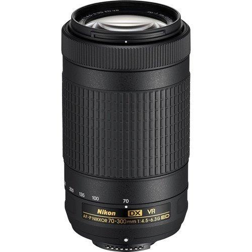 Imagem 1 de 10 de Lente Nikon Af-p Dx Nikkor 70-300mm F/4.5-6.3g Ed Vr