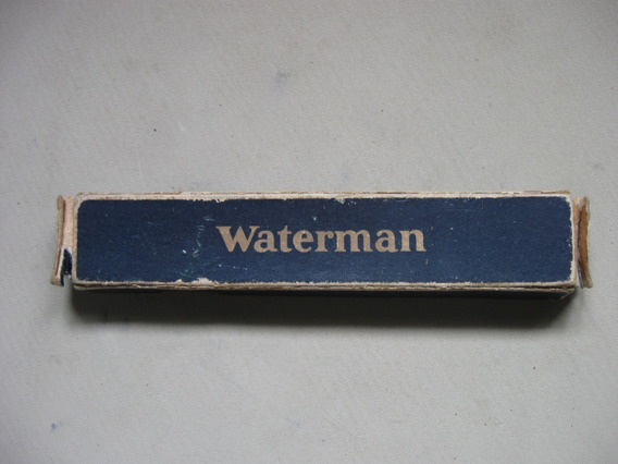 Lapicera Pluma Waterman En Su Caja Original