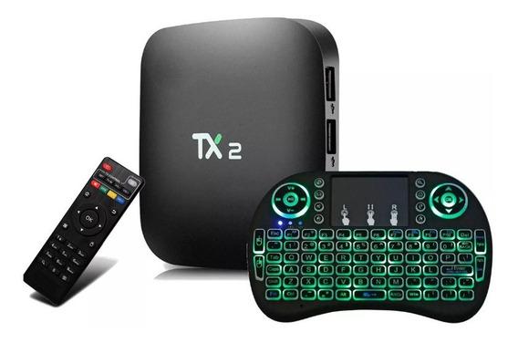Tx2 3gb /32gb Bluetooth Netflix Android Com Teclado