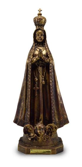 Imagem De Nossa Senhora Aparecida Ouro Velho - Inquebrável (