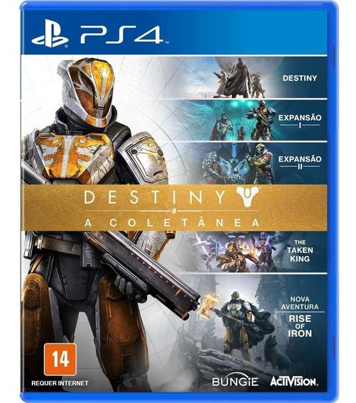 Jogo Playstation 4 Destiny A Coletânea Ps4 Usado