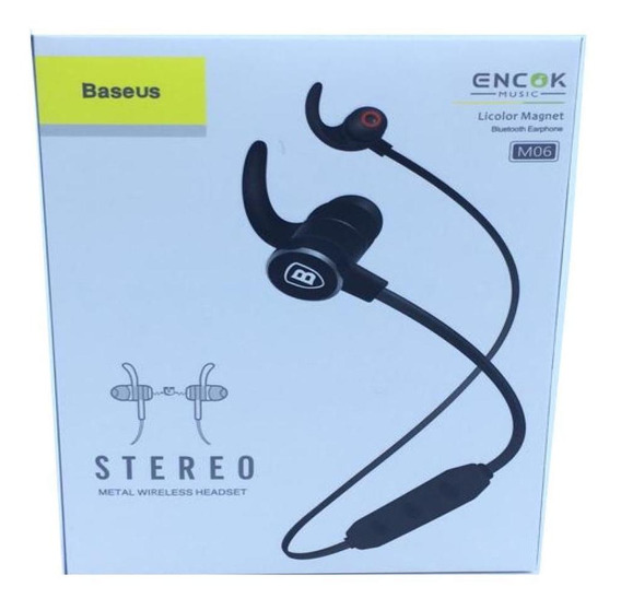 Fone Ouvido In-ear Bluetooth 4.1 Baseus Rosa