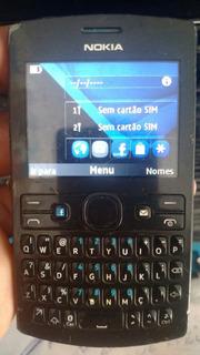 Smartphone Nokia 205 Asha Dual Chip 64mb Redes Sociais Fm