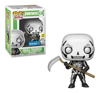 Funko Pop Fortnite Skull Trooper Glow In The Dark Exclusive