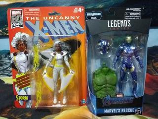 Rescue Marvel Legends Y Storm Retro Marvel Legends Nuevos