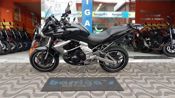 Kawasaki Versys 650 Abs 2010 Preta Impecável