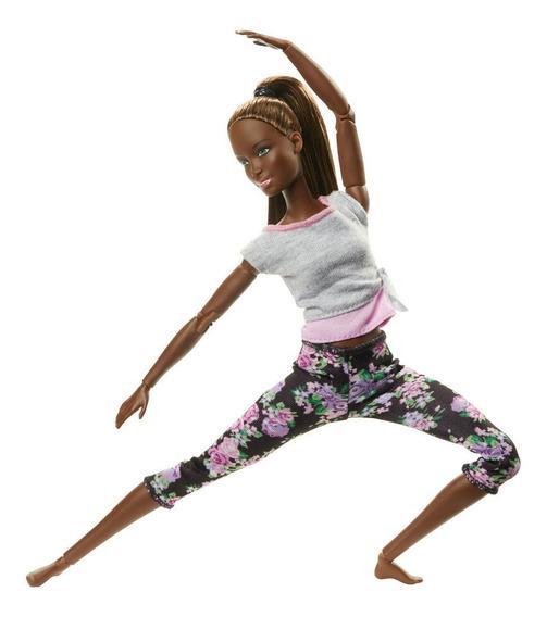 Boneca Barbie - Feita Para Mexer - Aula De Yoga - Mattel