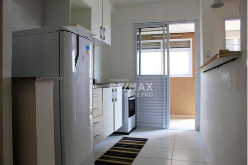 Apartamento Com 1 Dormitório Para Alugar, 42 M² Por R$ 1.990,00/mês - Alphaville - Barueri/sp - Ap3481