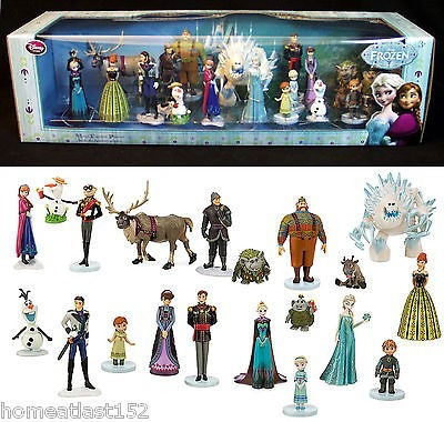 Playset Frozen Elsa Ed De Luxo 20 Pçs Original Disney Store