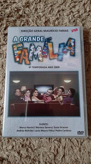 Dvd A Grande Familia 9° Temporada Completa - Viva 6 Dvds