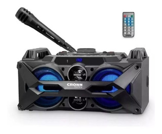 Parlante Portatil Crown Mustang Cma-402bt Bluetooth / Usb