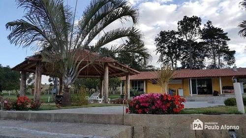 Chácara Com 3 Dormitórios À Venda, 31000 M² Por R$ 1.200.000,00 - Zona Rural - Poços De Caldas/mg - Ch0097