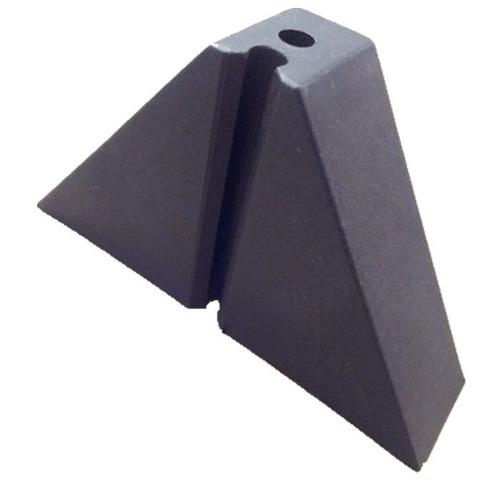 Calço Para Telha Trapézio T 100 2 Furos Kit 60 Peça(s)